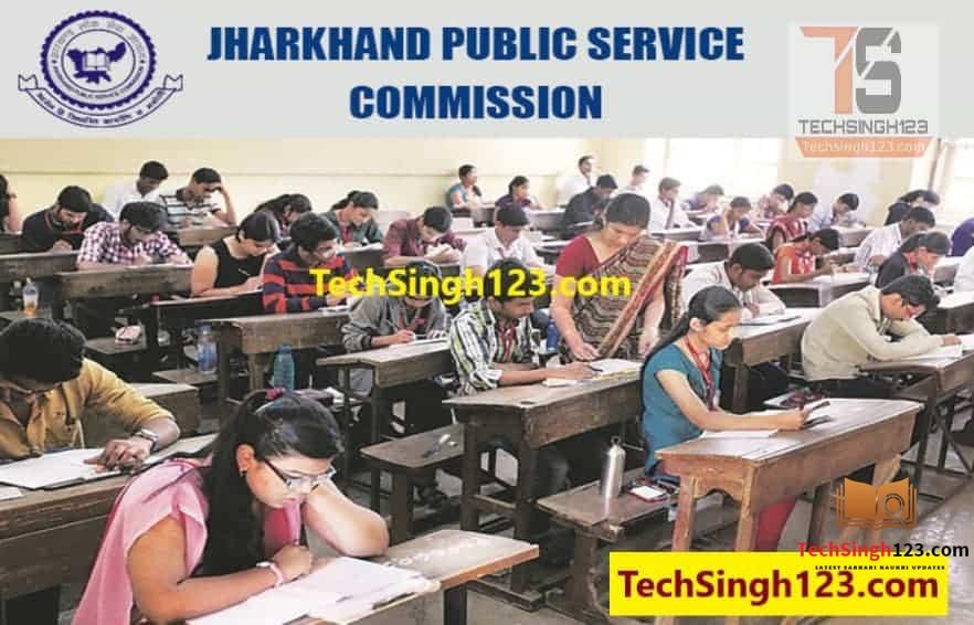 JPSC Recruitment 2020-2021 JHARKHAND PUBLIC SERVICE COMMISSION