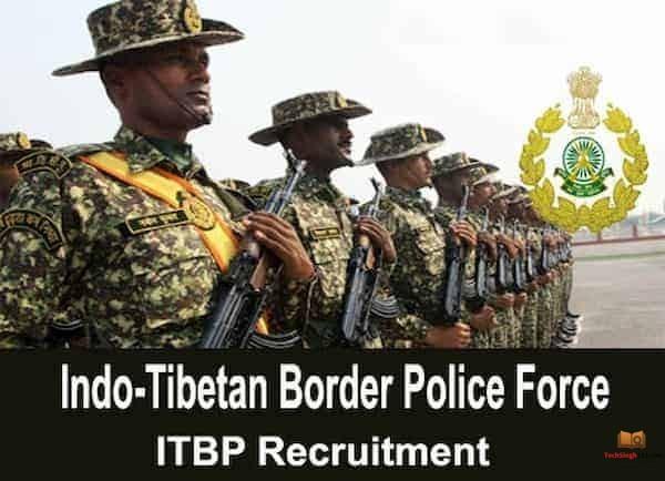 ITBP Recruitment 2020-2021 भारत-तिब्बत सीमा पुलिस बल भर्ती